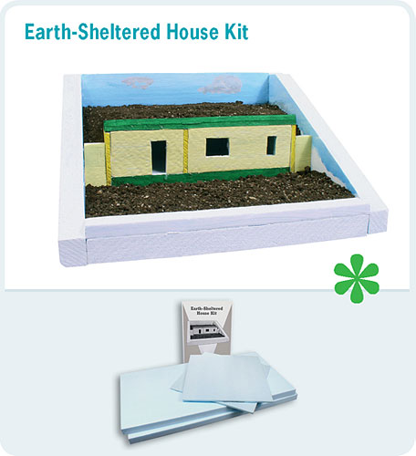 Consider hearlihy to extend green and engineering learning for Earth sheltered home kits