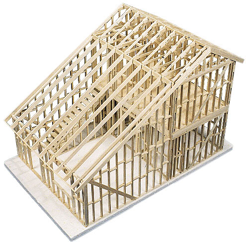 Architectural model house kits