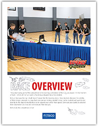 Pitsco Education - TSA - Resources - Race Overview