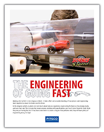 Pitsco Education - Dragsters - Resources - Engineering of Speed