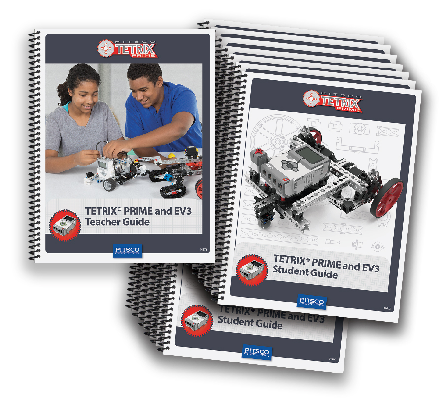 Pitsco Education - TETRIX Robotics - TETRIX PRIME - Shop Activities and Curriculum