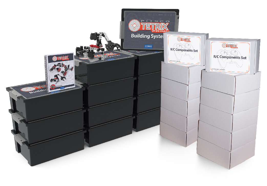 Pitsco Education - TETRIX Robotics - TETRIX PRIME - Shop Class Packs