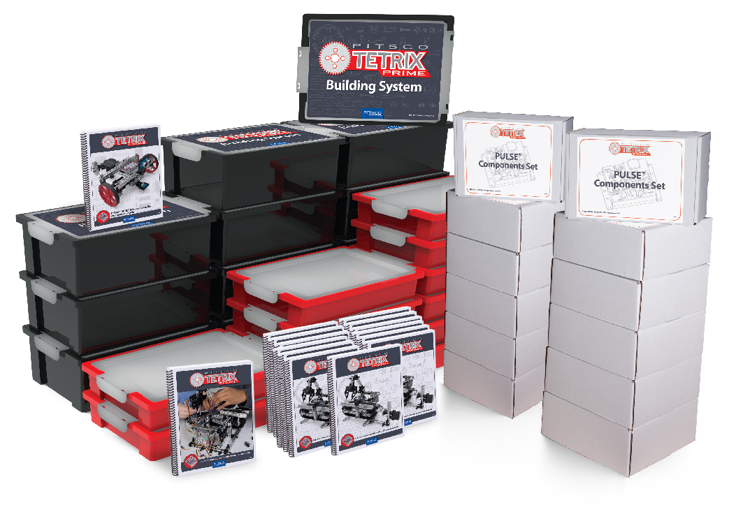 Pitsco Education - TETRIX Robotics - TETRIX PRIME - Shop Multi-Student STEM Units