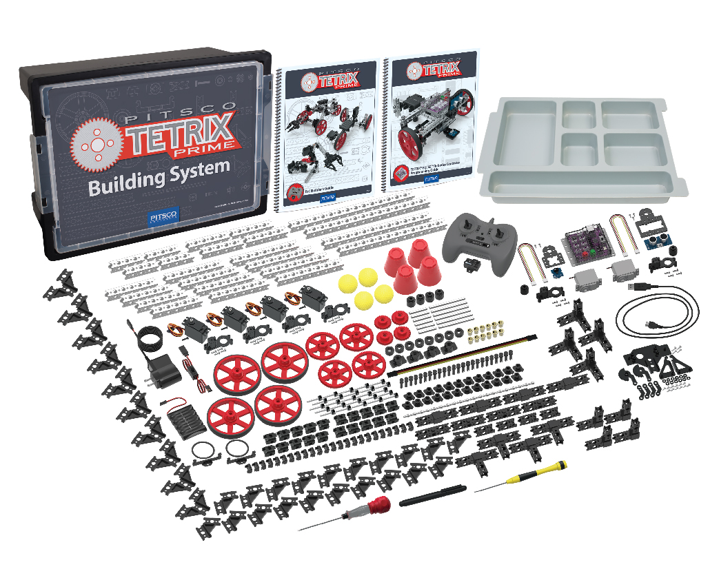 Pitsco Education - TETRIX Robotics - TETRIX PRIME - Shop Robotics Sets
