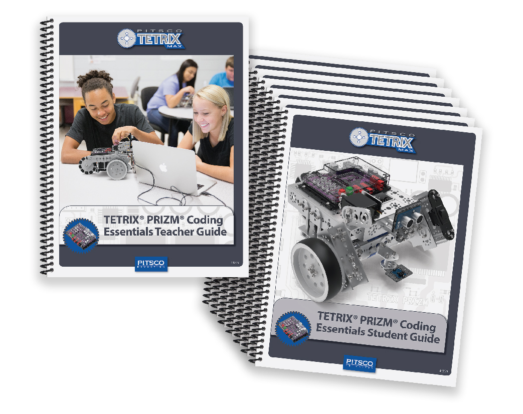 Pitsco Education - TETRIX Robotics - TETRIX MAX - Shop Activities and Curriculum