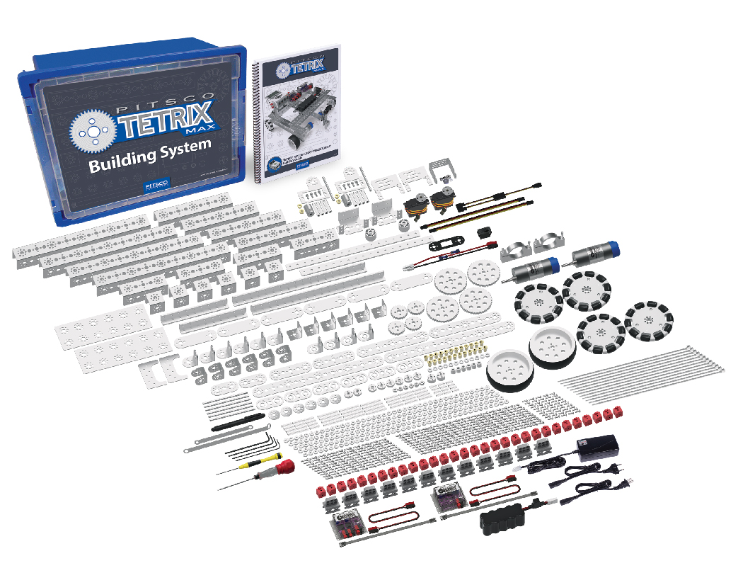 Pitsco Education - TETRIX Robotics - TETRIX MAX - Shop Robotics Sets