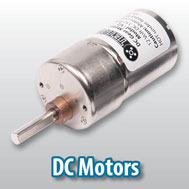 DC Motors for robots