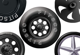 Wheels for CO 2 Dragsters
