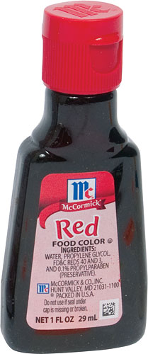 Red Food Coloring (W27612)