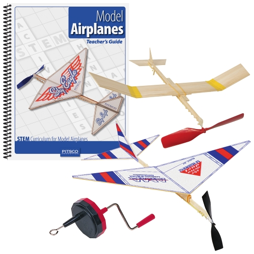 Homeschool Rubber Band Powered Airplanes Pack W36907