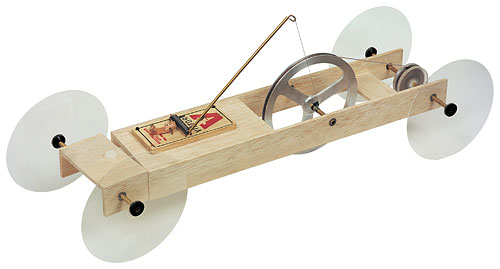 Pulley power mousetrap vehicle kit w58924 mousetrap vehicle kit view larger image malvernweather Image collections