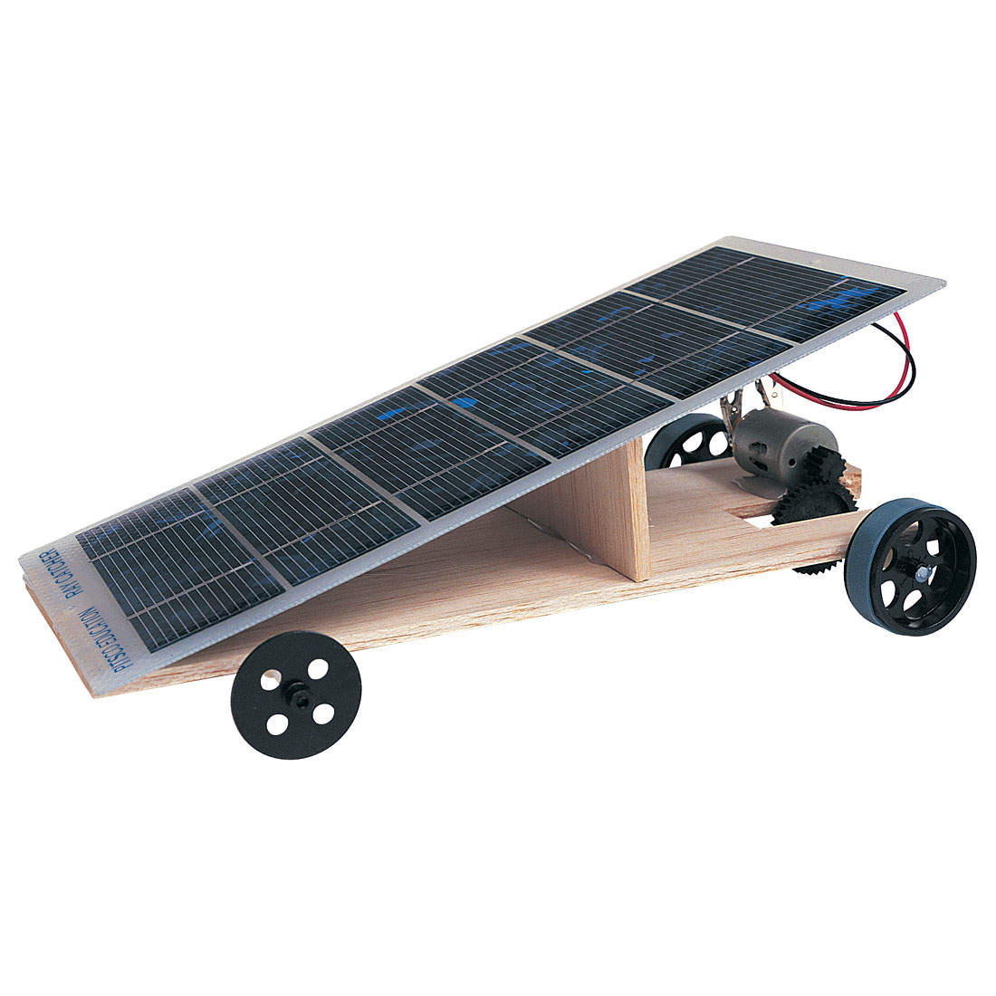 how to build a solar car project