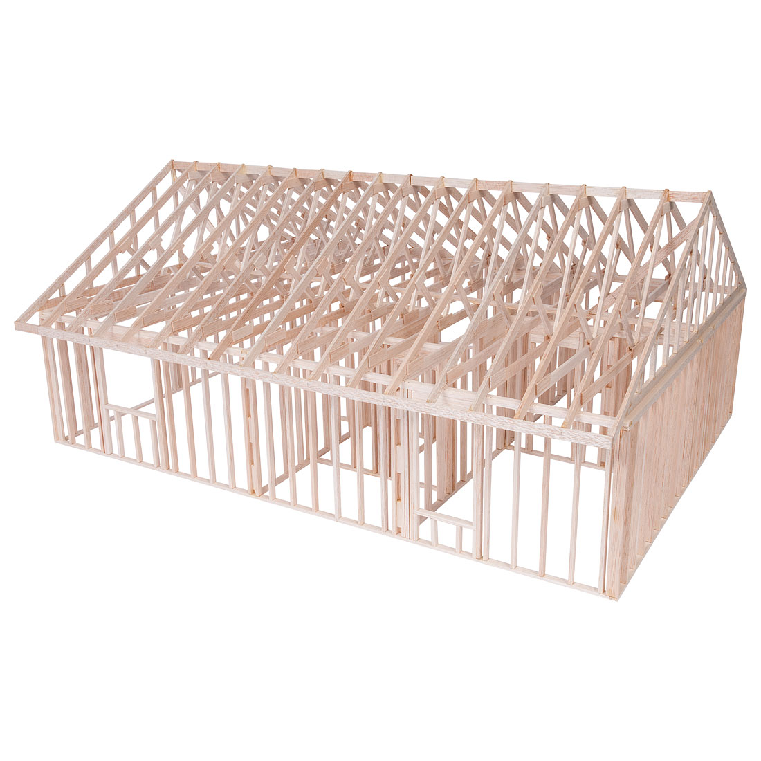 True scale house framing kit w36790 for A frame building kits