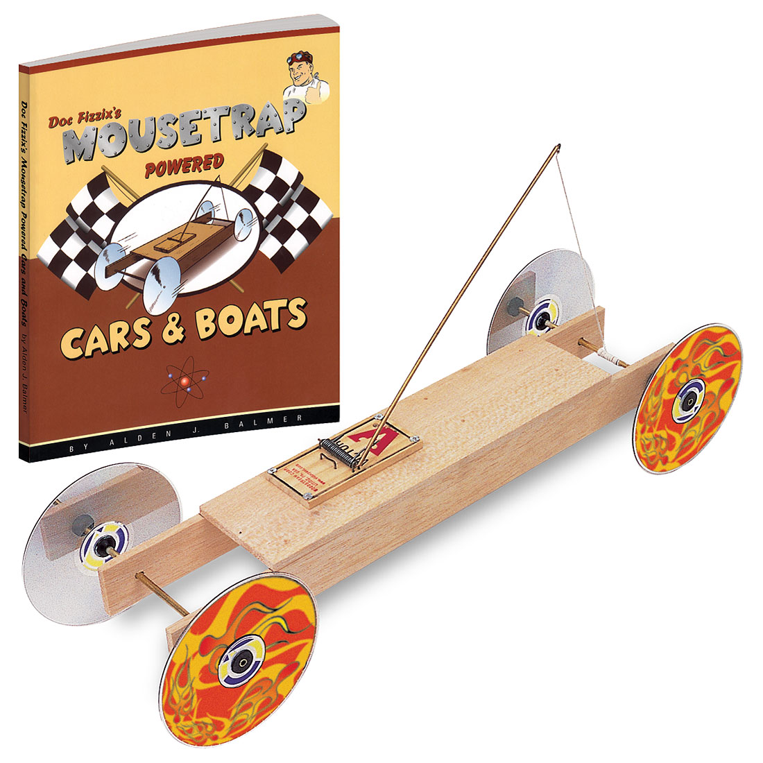 Mouse Trap: Mouse Trap Powered Car