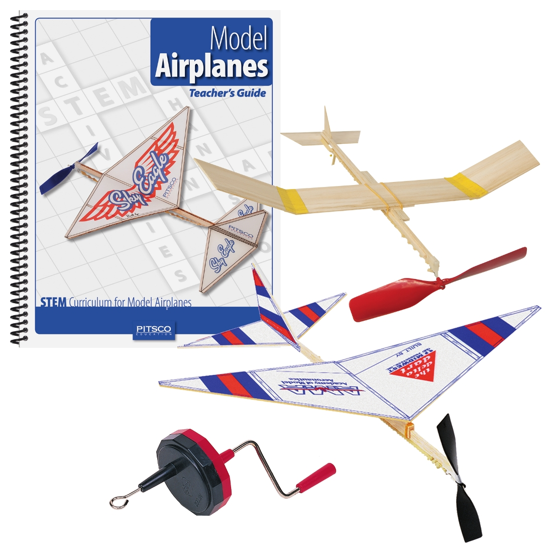 Rubber Band Powered Airplanes 115