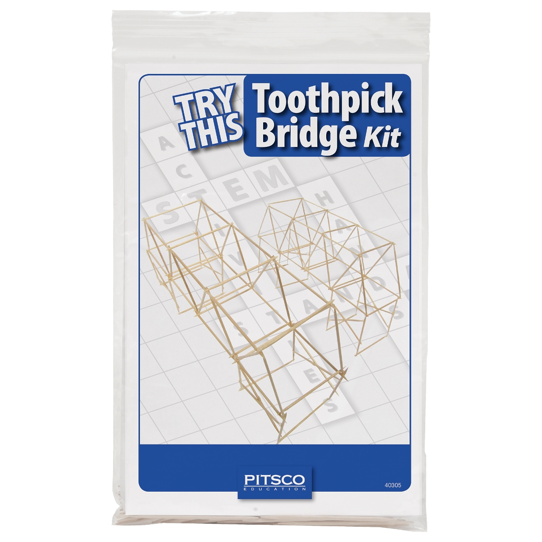 Try This Toothpick Bridge Kit W40309