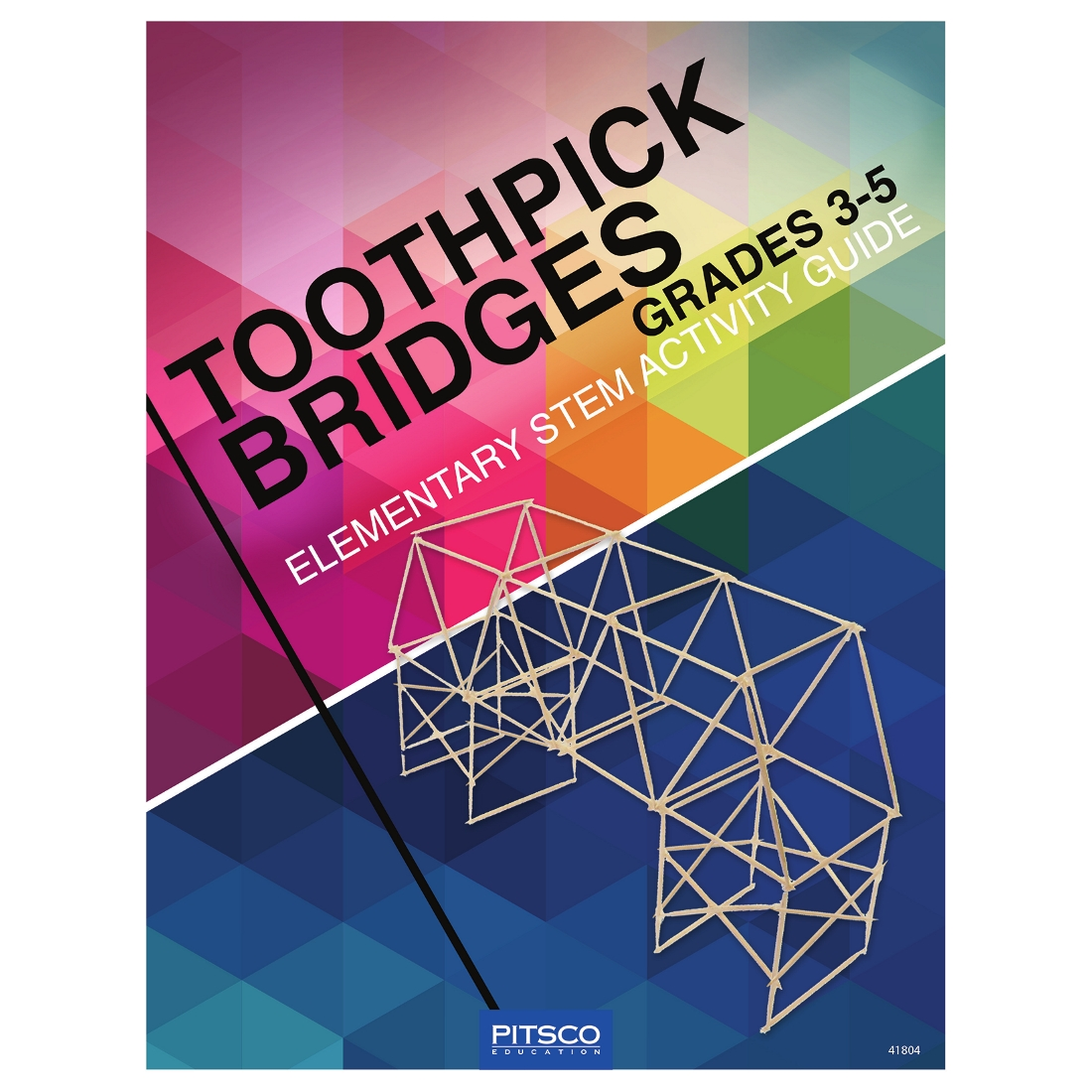 Toothpick Bridges Elementary Stem Activity Guide W41804