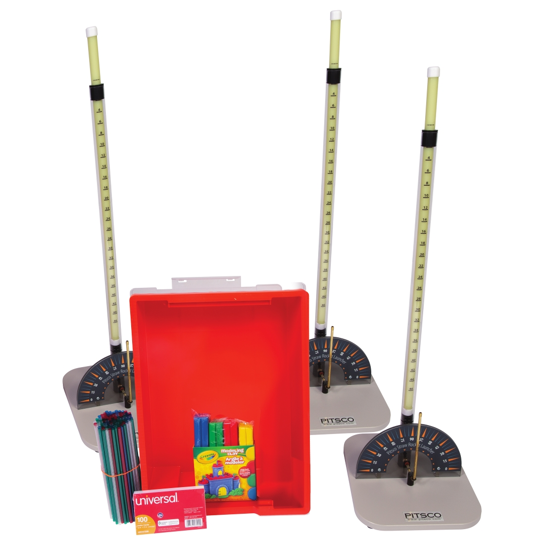 For 30 Students Pitsco Straw Rocket Class Pack