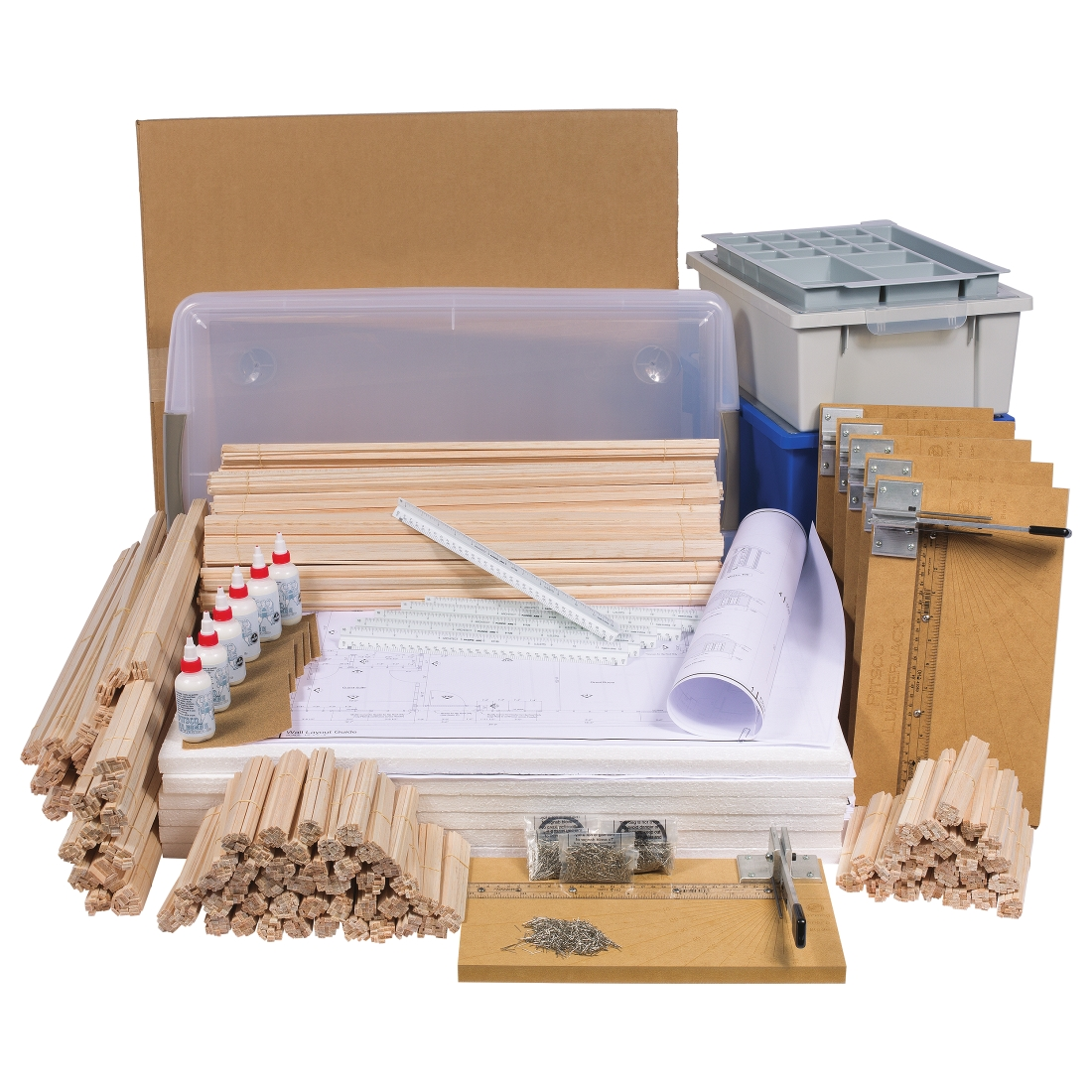 True Scale House Framing Kit Maker Project (W43182)