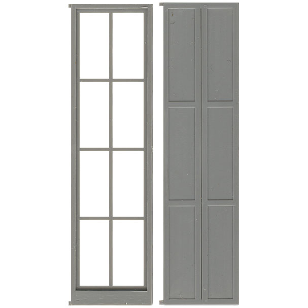 sc 1 st  Pitsco Education & Balcony Doors with Shutters (W80770)