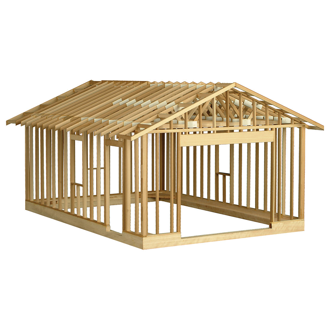 Garage framing kit 201 w31574 for A frame house plans with garage