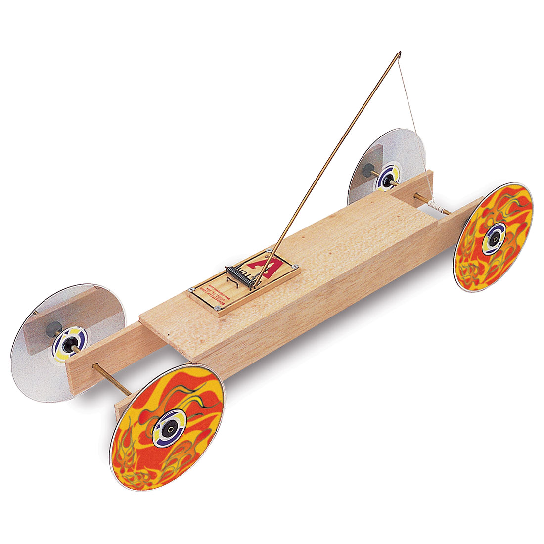 Simple Mouse Trap Race Car Designs