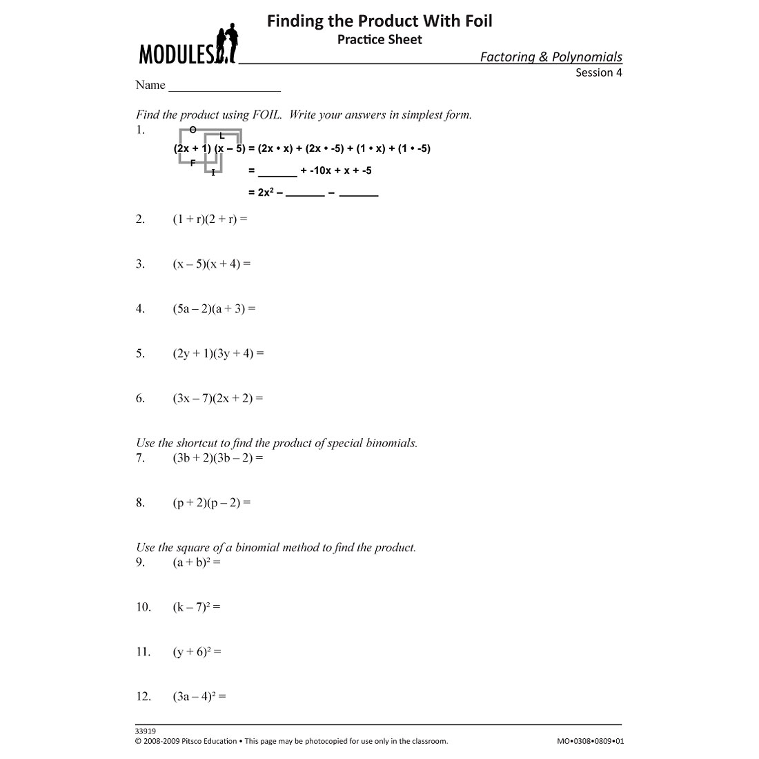 Uncategorized Foil Worksheets foil method worksheet free worksheets library download and print templates worksheets