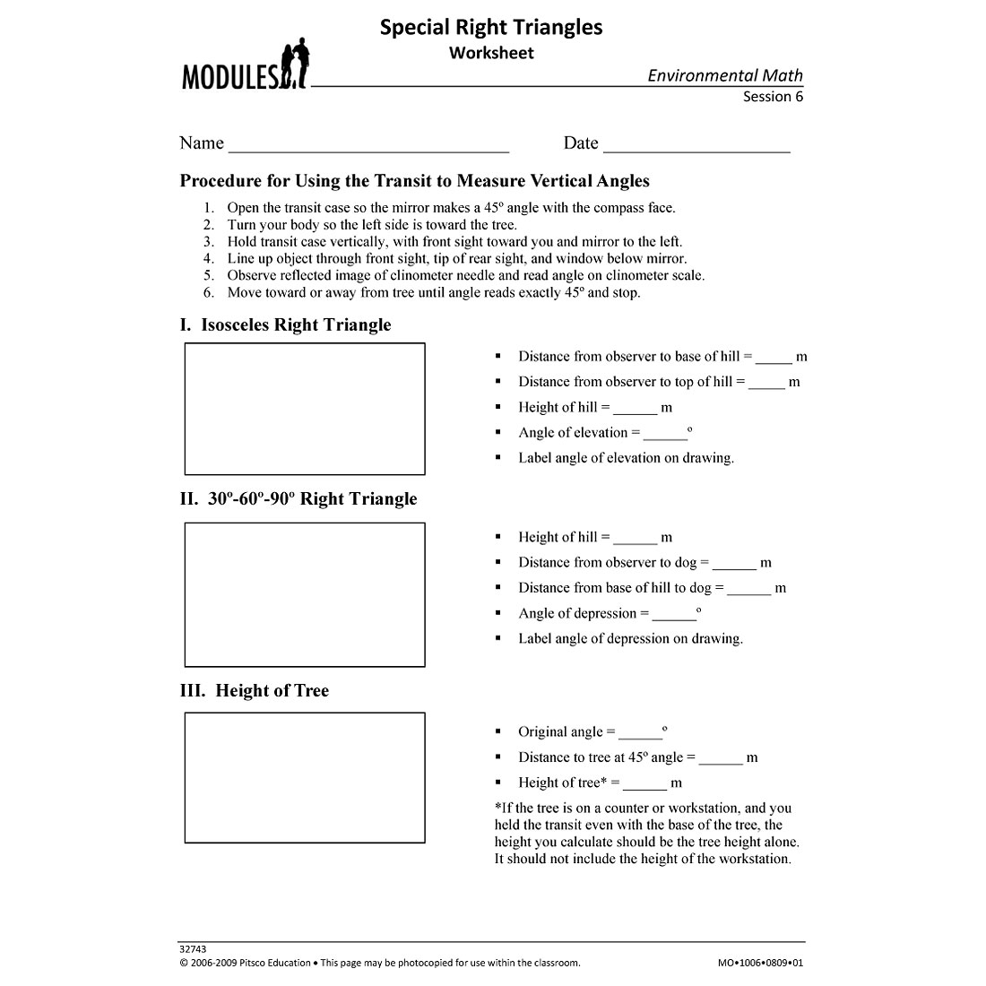 special right triangles worksheet w32743. Black Bedroom Furniture Sets. Home Design Ideas