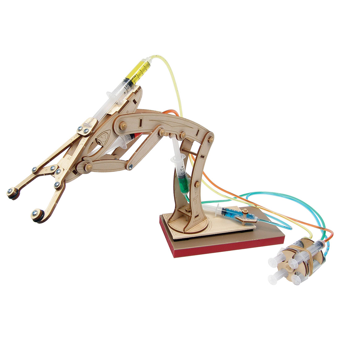 Simple Hydraulic Robotic Arm Designs : T bot ii hydraulic arm