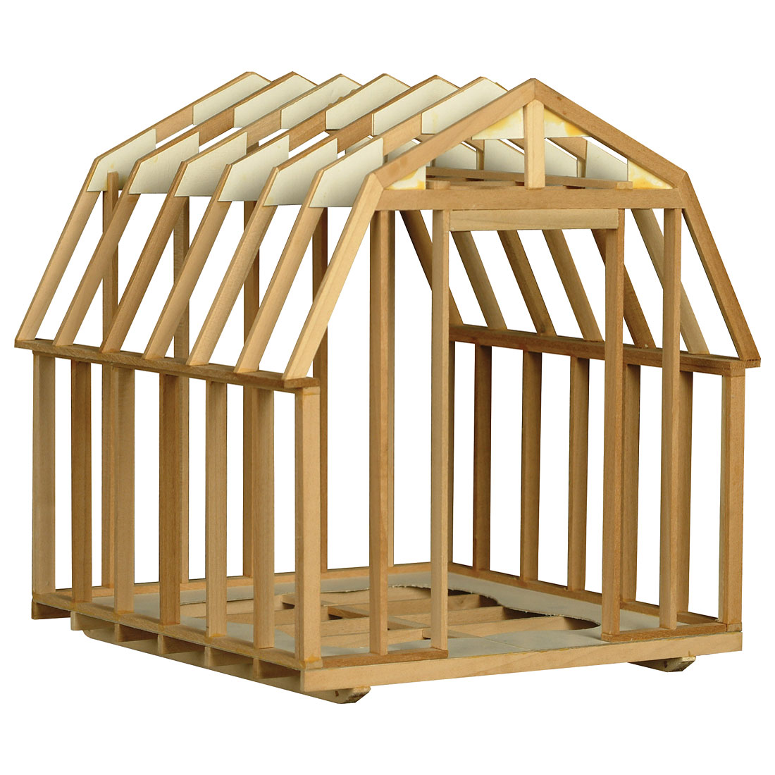 Utility building framing kit 101 w31573 for Kits for building a house