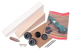 Metric Dragster Kit MK200 (Basswood)