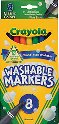 Markers, Washable, Fine Tip