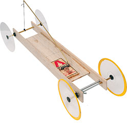 how to make a mousetrap car move forward and backwards