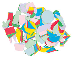 Bag of Card Stock Shapes