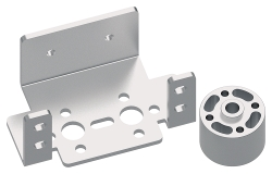 TETRIX<sup>&reg;</sup> MAX Single Standard-Scale Servo Motor Bracket