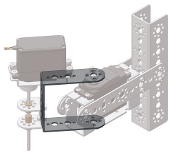 39594 TETRIX Quarter-Scale Pivot Arm with Bearing Pack 1