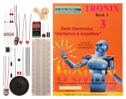 Tronix Lab 3: Oscillators and Amplifiers Lab
