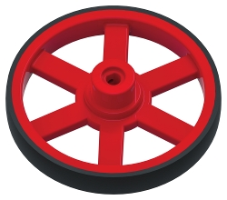 TETRIX<sup>&reg;</sup> PRIME Wheel with Tire