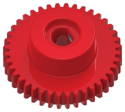 TETRIX<sup>&reg;</sup> PRIME 40-Tooth Plastic Gear