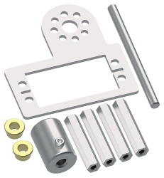 TETRIX<sup>&reg;</sup> MAX Standard Servo Mounting Kit