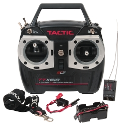 Tactic 6-Channel Radio Control