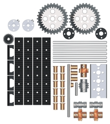 43001 TETRIX MAX Advanced Gear Pack 0