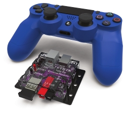 TETRIX<sup>&reg;</sup> Tele-Op Control Module and SONY PS4 DUALSHOCK 4 Controller Bundle
