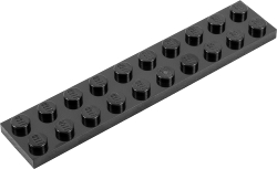 LEGO<sup>&reg;</sup> Plate (2 x 10) (50-pack)