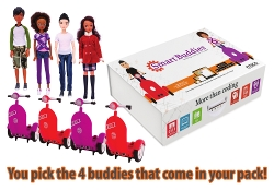 Smart Buddies™ Customizable 4-Pack