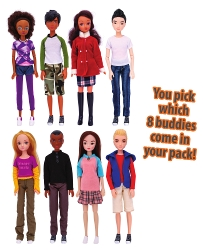 Smart Buddies™ Add-On Buddy 8-Pack