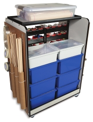 Pitsco Maker Space Cart Plus