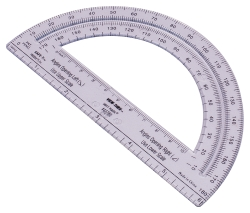"Safe-T Protractor 6"" / 180°"