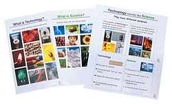 Science and Technology Poster Set (set of 4)