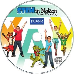 STEM in Motion with Phonics Music CD